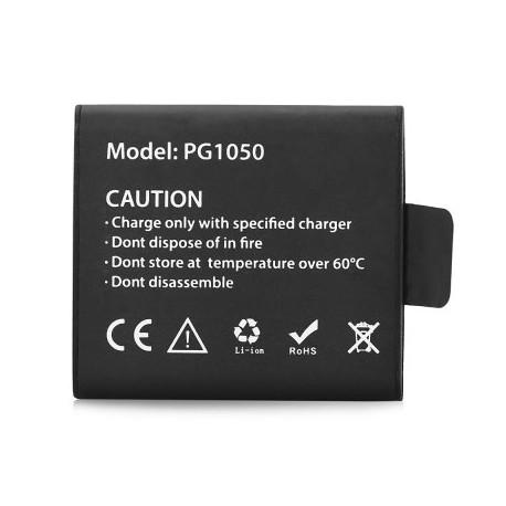 Bateria 3.7V 1050mAh para Câmara Acção Eken H8 H8R H9 H9R H2 H3R