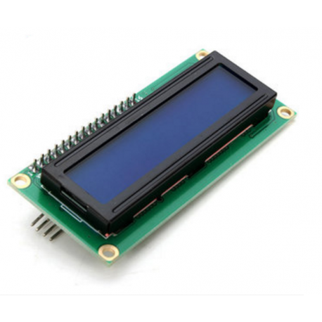 Display LCD 1602 I2C Luz de Fundo Azul