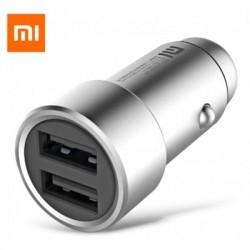 Carregador Auto Xiaomi Silver Dual USB 5V 3.6A