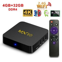 Box TV MX10 4GB/32GB 4K Android 7.1