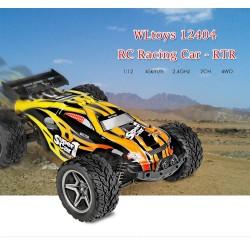 Carro Elétrico RC Wltoys 12404 1/12 4WD Truggy