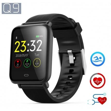 SmartWatch Q9 com Medição de Frequência Cardíaca