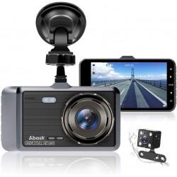 """Abask Dash CAM 4"""" Visão Noturna Full HD 1080P WDR"""
