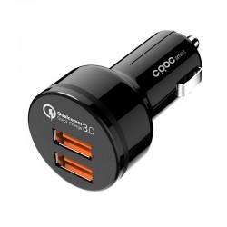 Carregador de Isqueiro CRDC CC-T8 QC 3.0 Dual USB