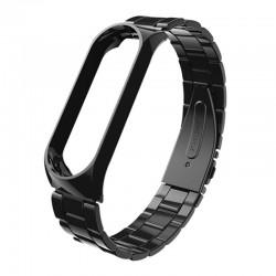 Bracelete para Xiaomi Mi Band 3 Elos Metálicos