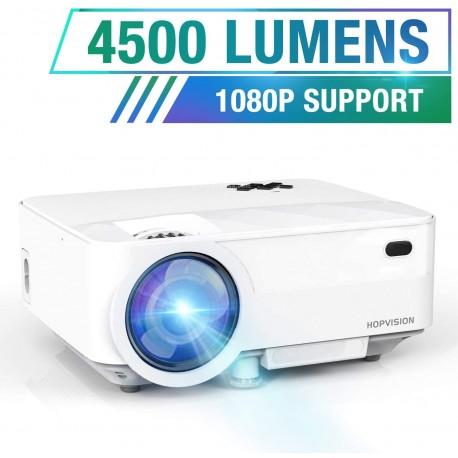 Projetor de Vídeo LED T21 HDMI/AV/USB/SD/VGA
