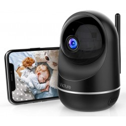 Câmara de Vigilância IP Dual WiFi Victure PC650 Full HD 1080p