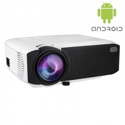 Projetor LED E400A Android 2200 Lumens