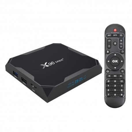 Box Android TV X96 Max+ 8K 2GB/16GB Android 9