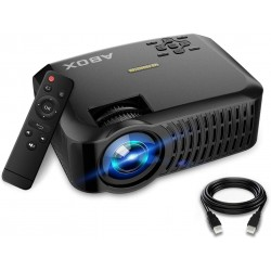 Projetor LED HD ABOX A2 3000 Lumens