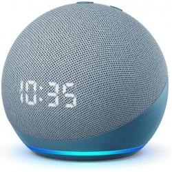 Assistente Virtual Amazon Echo Dot 4ª Geração com Relógio